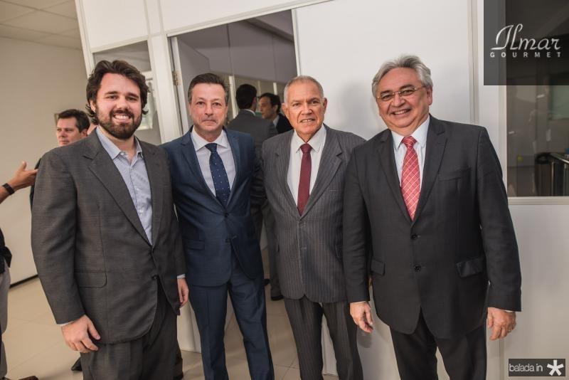 Carlos Alencar, Fernando Alfredo Franco, Carlos Alberto Forte e Paulo Albuquerque