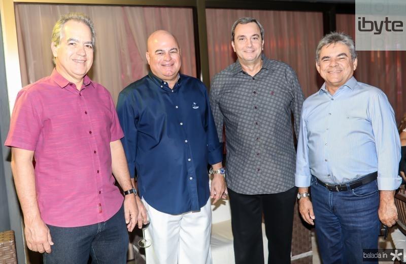 Eduardo Fiuza, Luciano Cavalcante, Kalil Otoch e Julio Maia