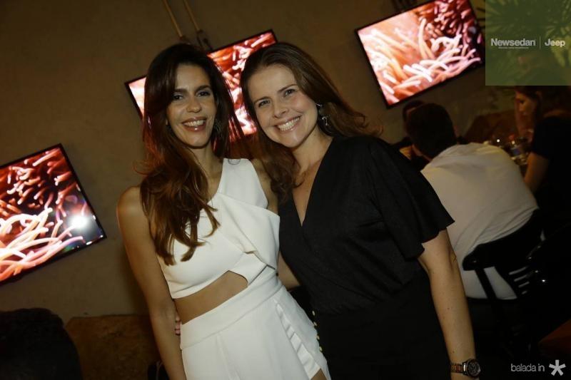 Maira Farias e Samea Gondim