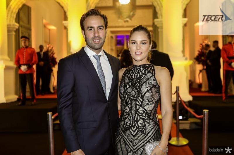 Vitor e Daniela Frota