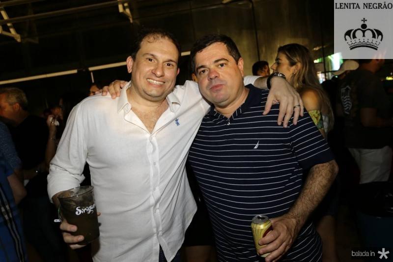 Luiz Claudio e Paulo Salazar