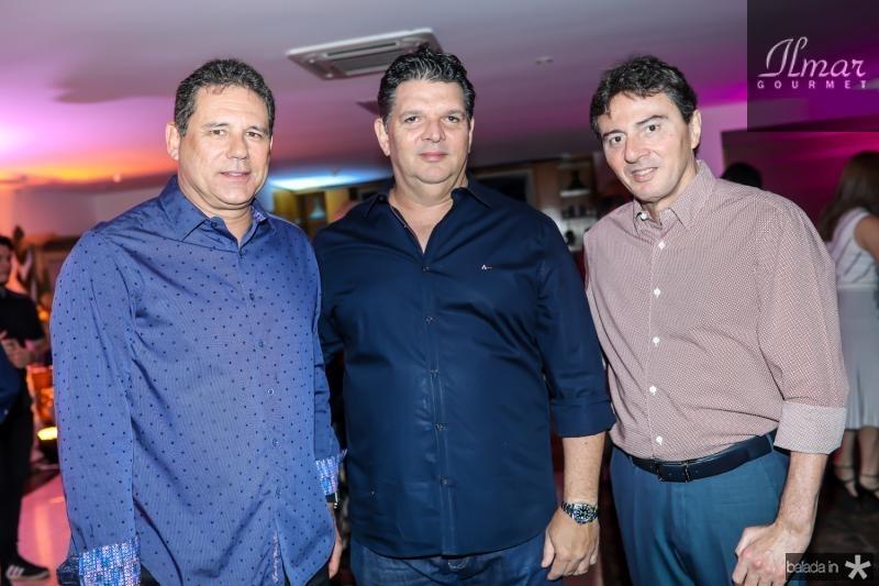 Marcus Oliveira, Wicar Pessoa e Luis Teixeira