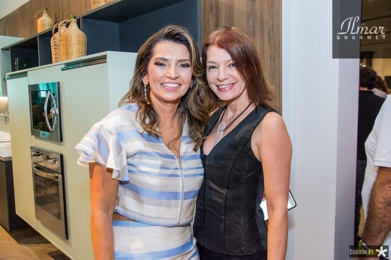 Marcia Travessoni e Suzana Farias