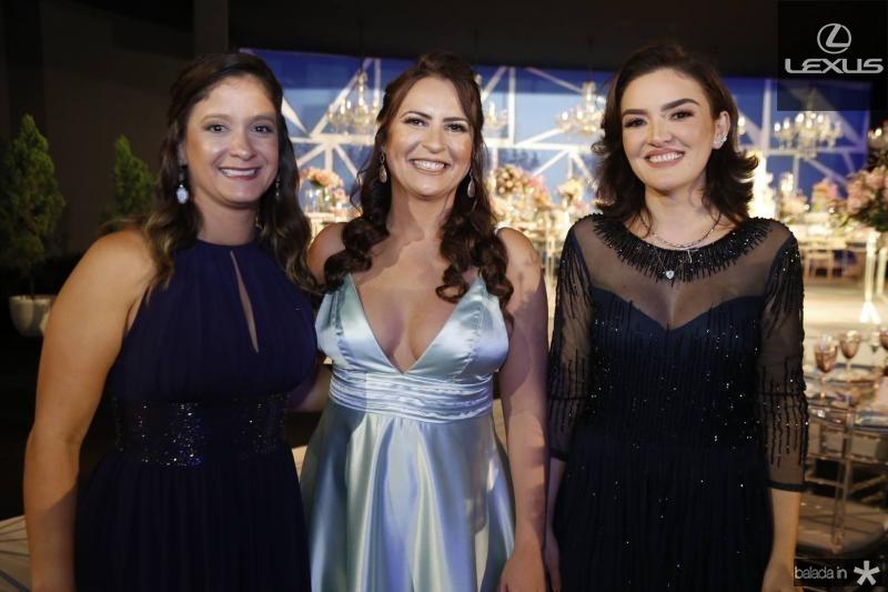 Mariane Gondim, Camila Nobre e Andiara Carbage
