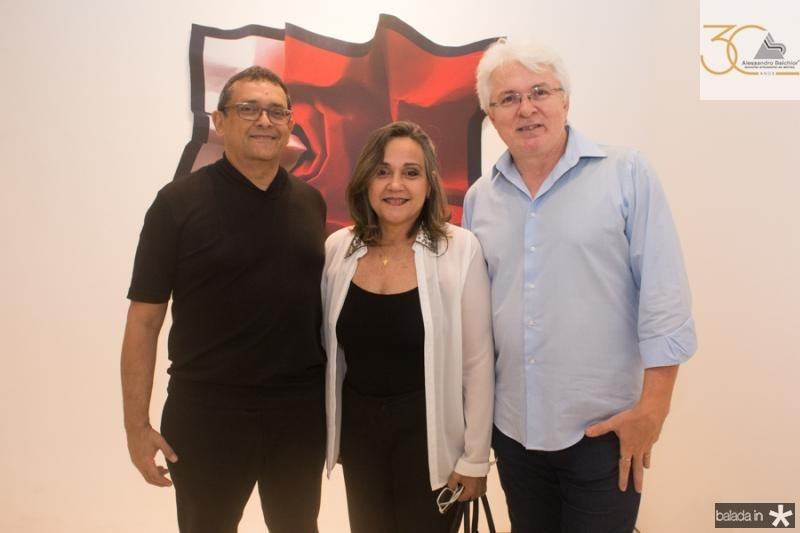 Jose Guedes, Cecilia Nobrega e Dudu Vidal