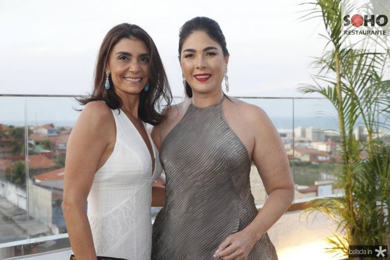 Rebecca Albuquerque e Izabela Fiuza