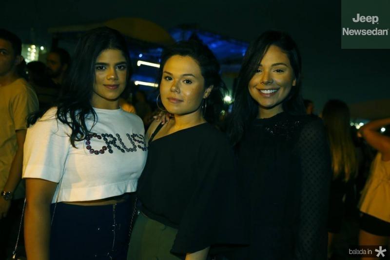 Erika, Daniely e Carol Miranda