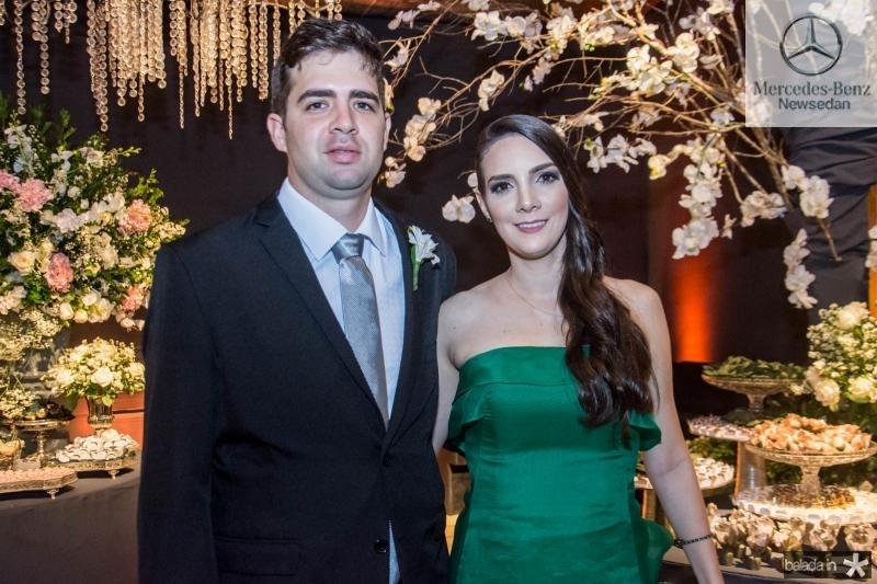 Lucas e Helen Aranha