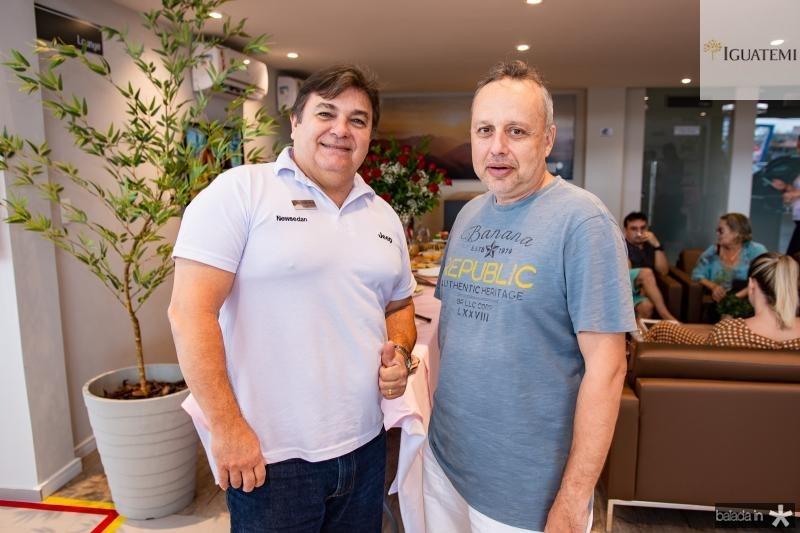 Haiguer Junior e Ricardo Aguiar