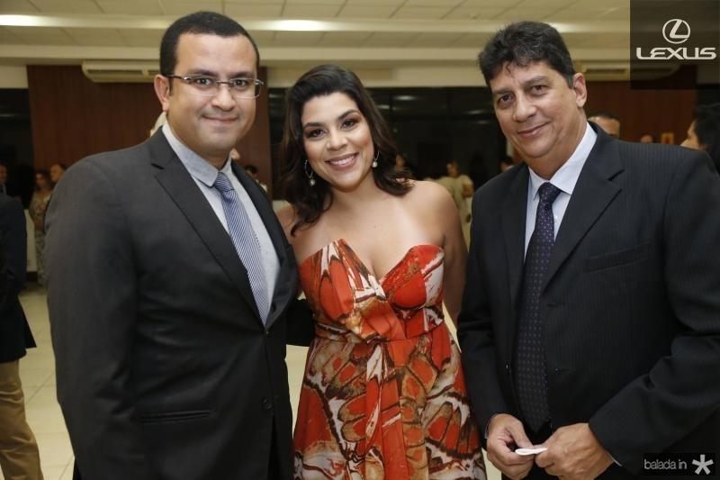 Antonio Carlos, Natalia Martins e Othoniel Junior