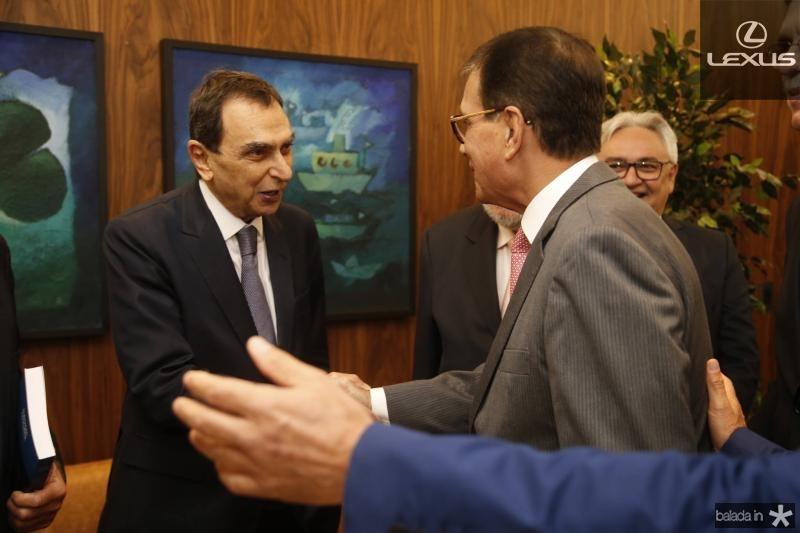 Melhin Chalhub e Beto Studart