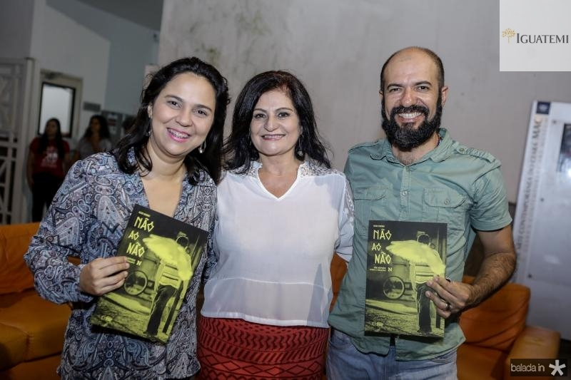 Camila Silveira, Gloria Diogenes e Marney Eduardo