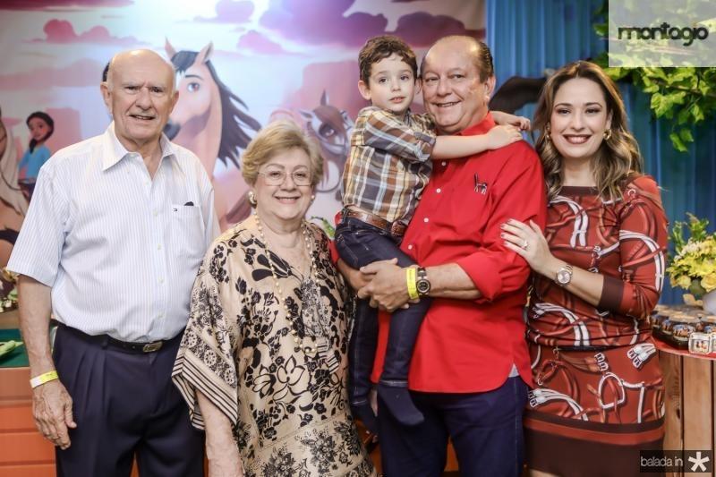 Silvio e Vera de Castro, Sylvio, Rafael e Silvinha Leal