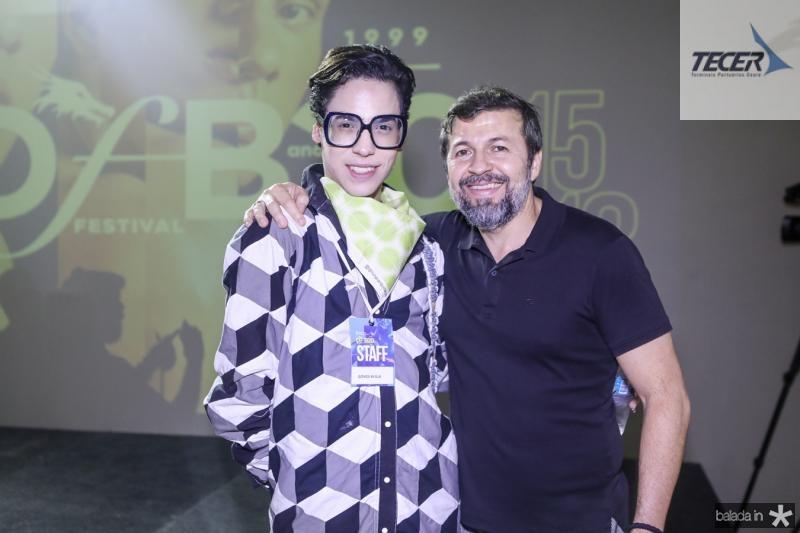 Gomes Avila e Elcio Batsta