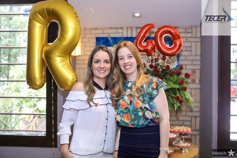 Raquel Vasconcelos e Marina Vale