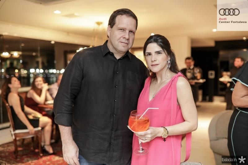 Edson Ventura Filho e Marilia Vasconcelos