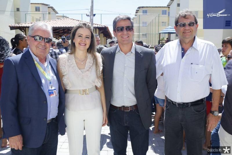 Wilson Bernardes, Liana Fujita, Rodrigo Kental e Francisco Kubrusle
