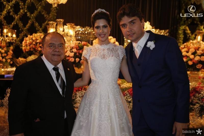 Antonio Cardoso Linhares, Lorena Aragao e Igor Otoch