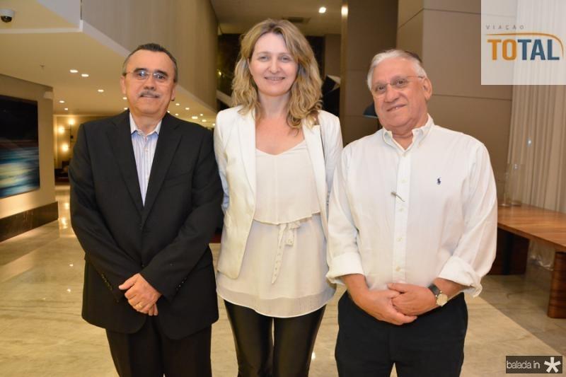Roque Albuquerque, Monia Heuser e Jose Carlos Timbo