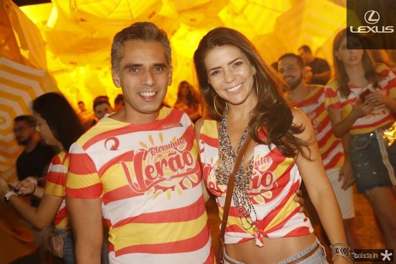 Erneto Alcantara e Dany Freire
