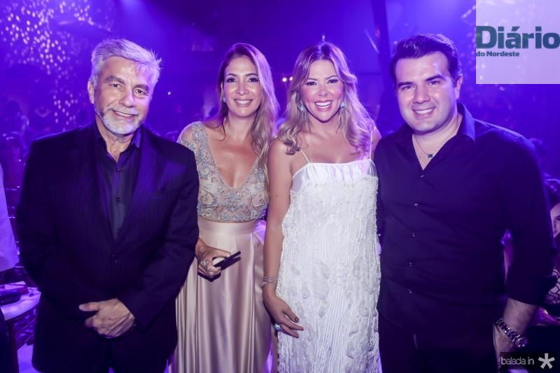 Eugenio e Dani Holanda, Patricia e Danilo Dias