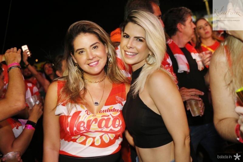 Juliana Barros e Salusa Rossas