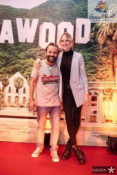 Halder Gomes e Dani Gondim