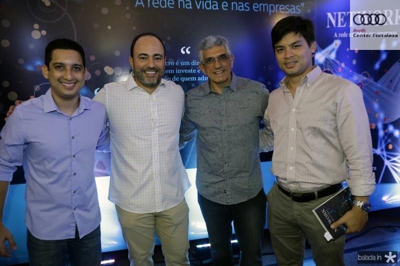 Lauro Sobreira, Camilo Barbosa, Cesar Benevides e Thiago Fujiwara