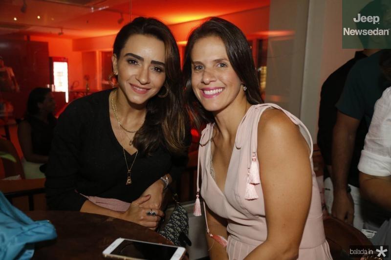 Camila Quinderé e Izabela Valenca