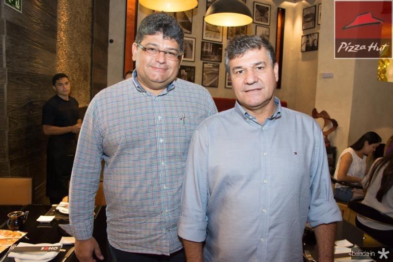 Anton Oliveira e Roberto Reis