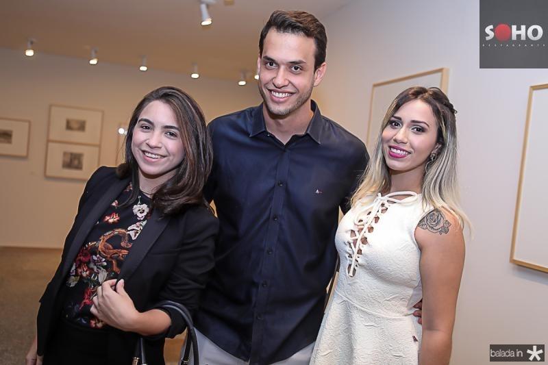 Camilla Santos, Victor Lima e Isabelle Alves