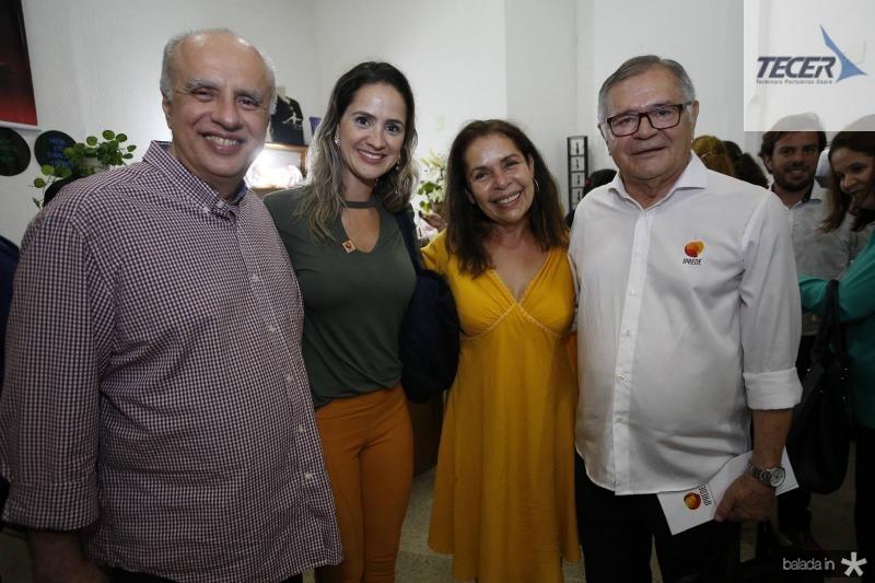 Ivan Ary, Joana Clemente, Dora Andrade e Sulivan Mota