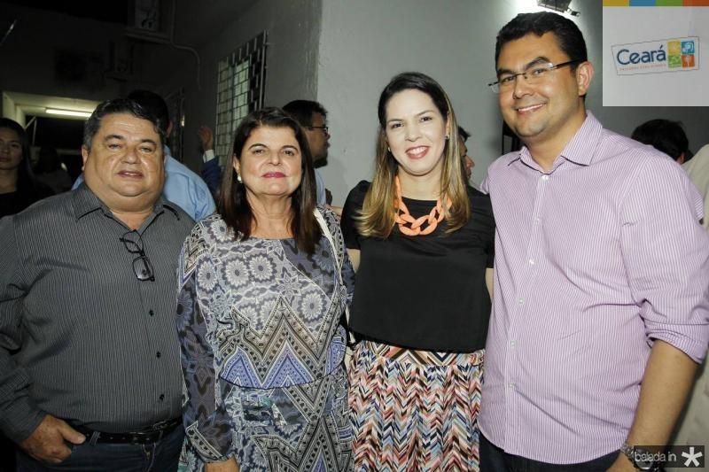 Helio e Simone Medeiros, Renata e Iraguassu Teixeira