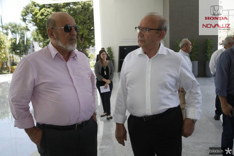 Jose Carlos e Francisco Gadelha
