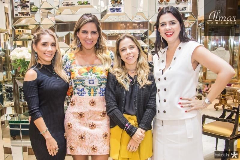 Nicole Benevides, Ana Carolina Fontenele, Mirella Rocha e Priscila Fontenele