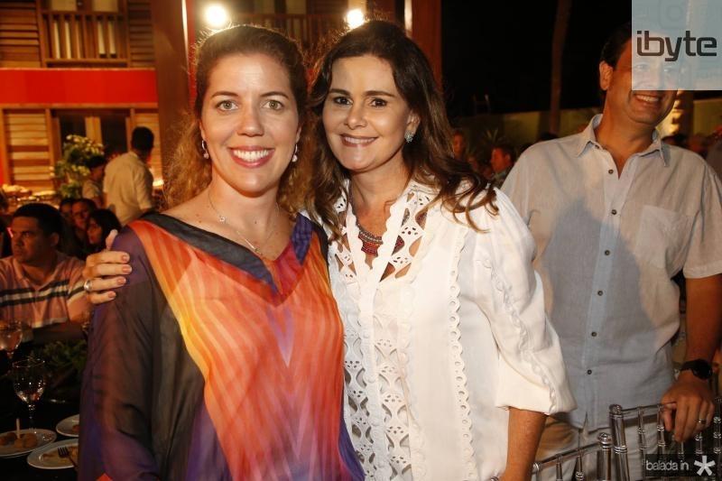 Ticiana Queiroz e Ivana Bezerra