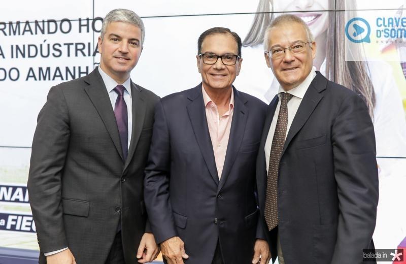 Guilherme Lencastre, Beto Studart e Roberto Zanchi