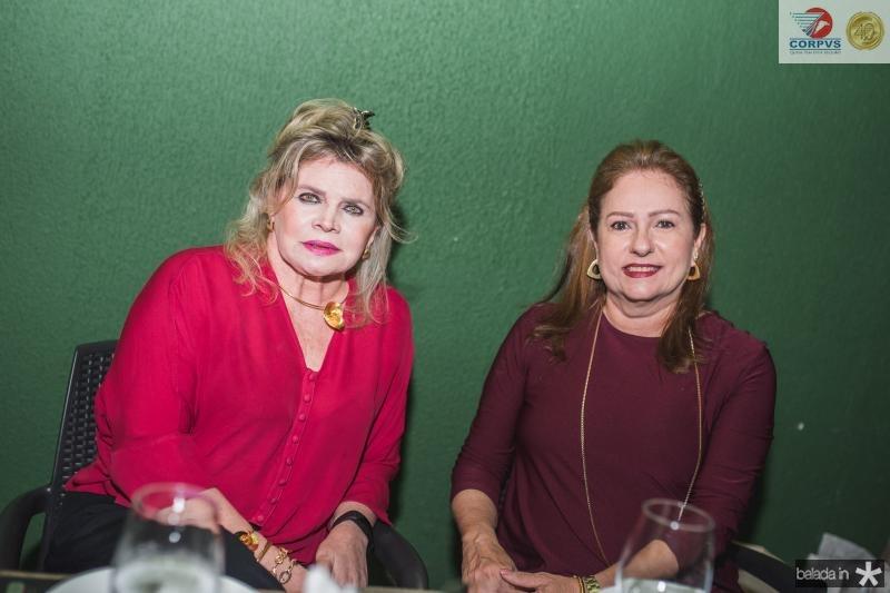 Sandra Romcy e Cristina Aragão