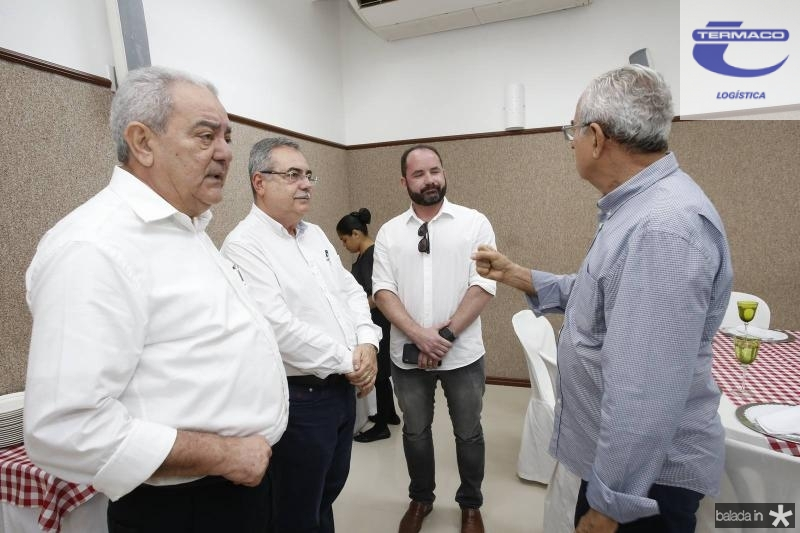 Adail Fontenele, Assis Cavalcante, Julio Santos e Bosco Macedo