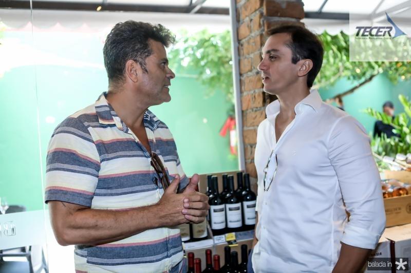 Miguel Saboia e Marcelo Marfrutas