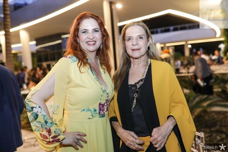 Enide Camara e Annia Ribeiro