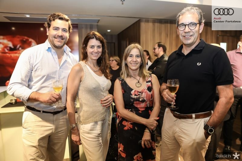 Francisco Viana, Ana Galhardas, Isabel Ferreira e Rui Ferreira