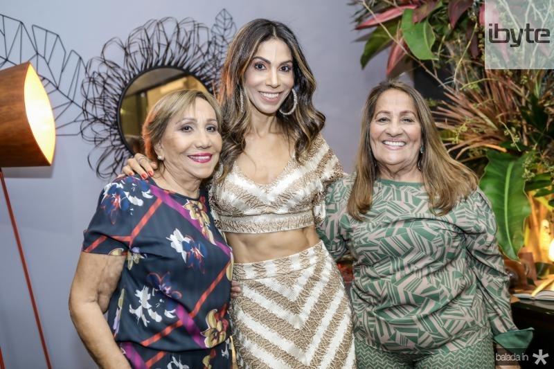Simone Oliveira, Synara Leal e Salete Oliveira