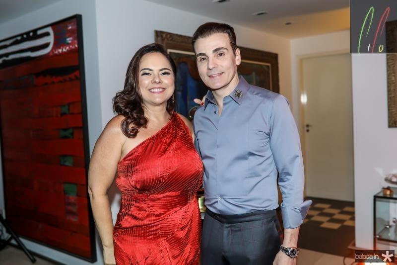 Denise Cavalcante e Rodrigo Maia