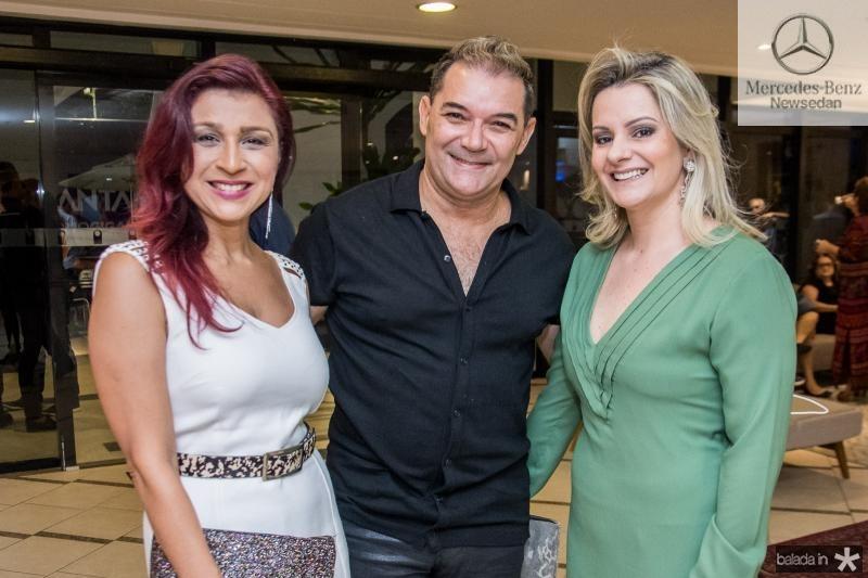 Patricia Porto, Luciano Rocha e Simone Bazam