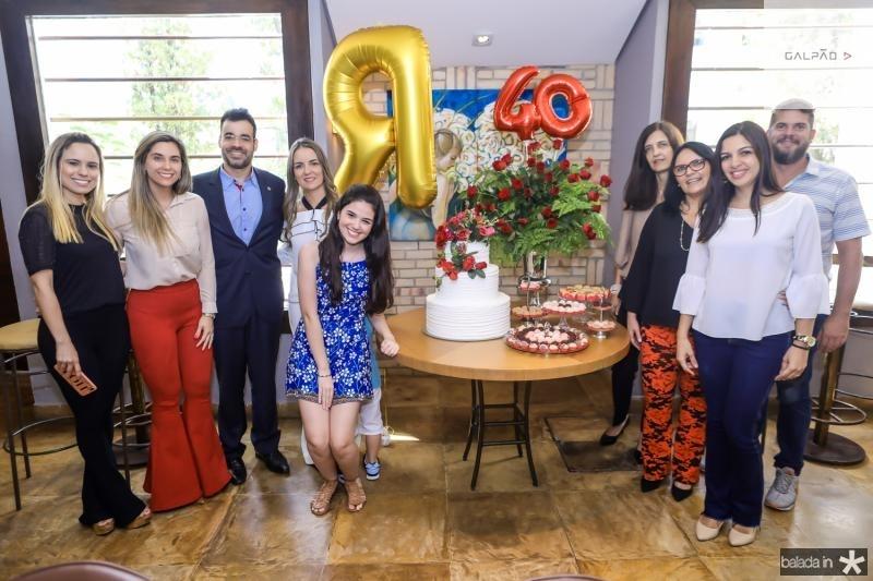 Julianna Albuquerque, Rodrigo Bona, Raquel e Beatrice Vasconcelos,  Jussara,