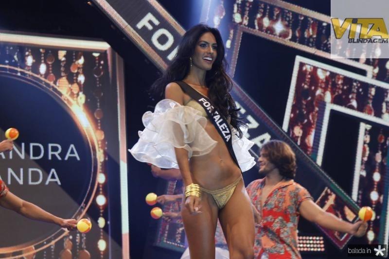 Miss Fortaleza e Alexsandra Holanda