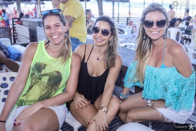 Flavia Silveira, Jamile Tigre e Priscila Ribeiro