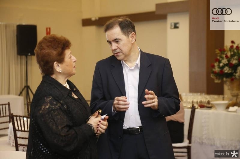 Catarina Marinho e Luiz Antonio Rabelo