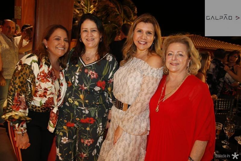 Liana Tomaz, Rose Lima, Georgia e Denise Andrade